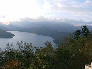 茶ノ木平からの中禅寺湖1