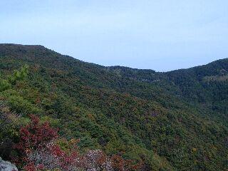 展望岩から東